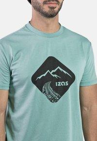IZAS - T-shirt imprimé - wasabi - 4