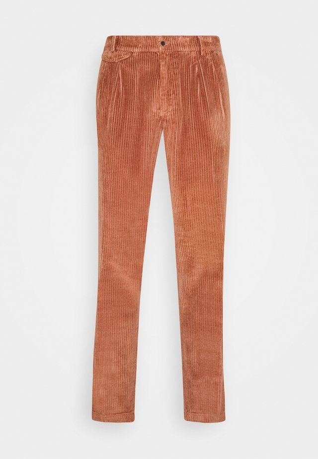 AMALFI PINCES - Trousers - pink