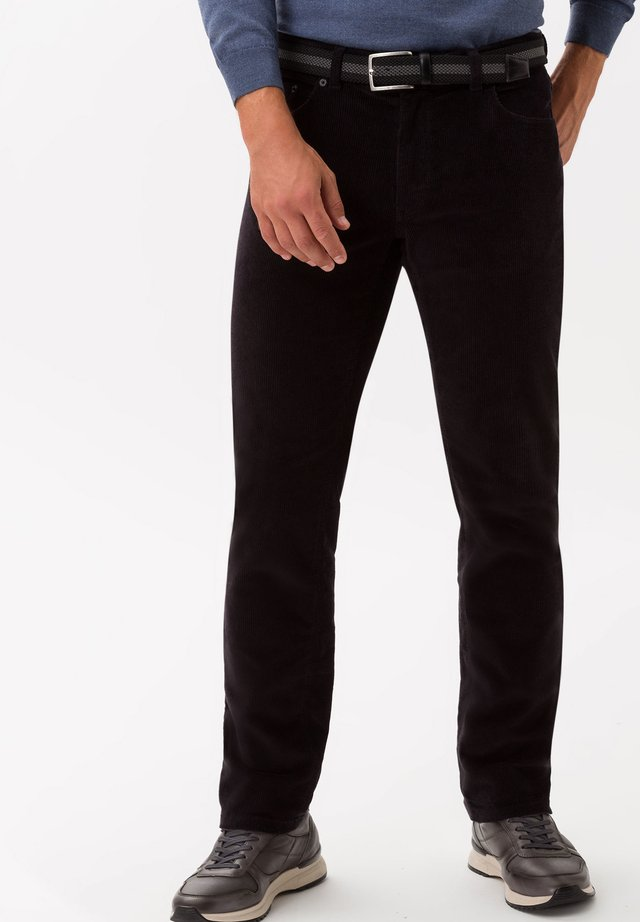 STYLE COOPER FANCY - Stoffhose - black