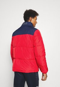 Fila - LANDOLF PUFFED JACKET - Träningsjacka - true red/black iris/bright white - 2
