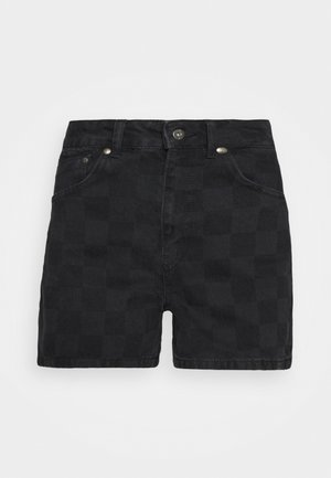 RAVE - Jeansshorts - charcoal