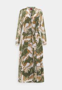 HUGO - ELEKTRA - Shirt dress - olive - 7