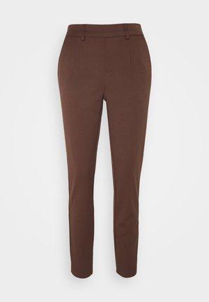 OBJLISA SLIM PANT - Pantalon classique - chicory coffee