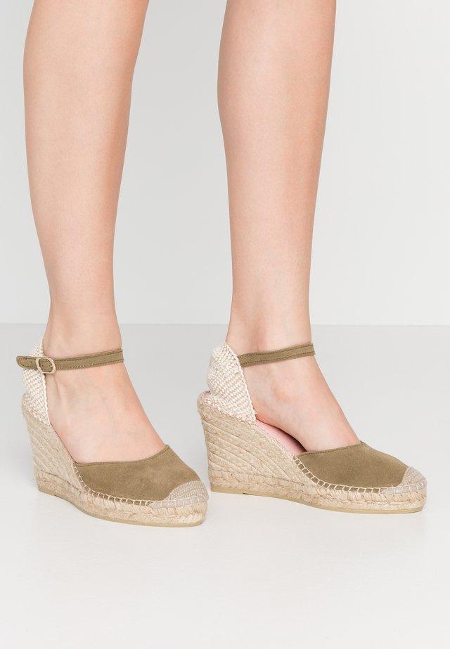 ANGIE - Sandalen met hoge hak - green