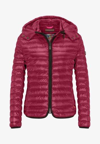 DAUNENJACKE NELLY II MIT ABNEHMBARER KAPUZE - Down jacket - rose wood