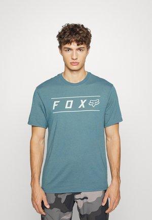 PINNACLE TECH TEE - T-shirt print - blue
