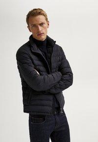 Massimo Dutti - Light jacket - blue-black denim - 1