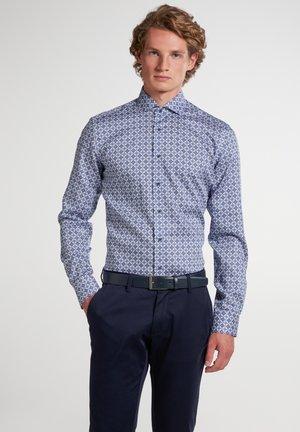 SLIM FIT - Shirt - marine/hellblau