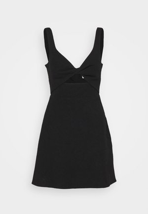 PHOEBE MINI DRESS - Korte jurk - black