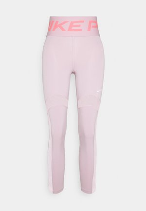 MIRAGE - Legging - plum chalk/metallic silver