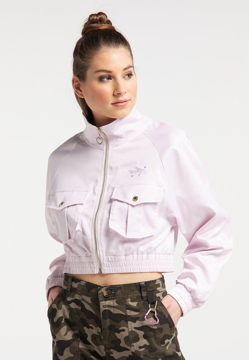 myMo - Light jacket - hellrosa