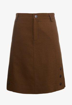 Áčková sukně - smoked brown