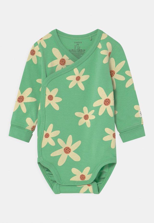 WRAP FLOWER - Body - green