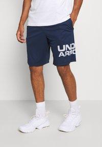 Under Armour - TECH WORDMARK SHORTS - Sports shorts - academy - 0