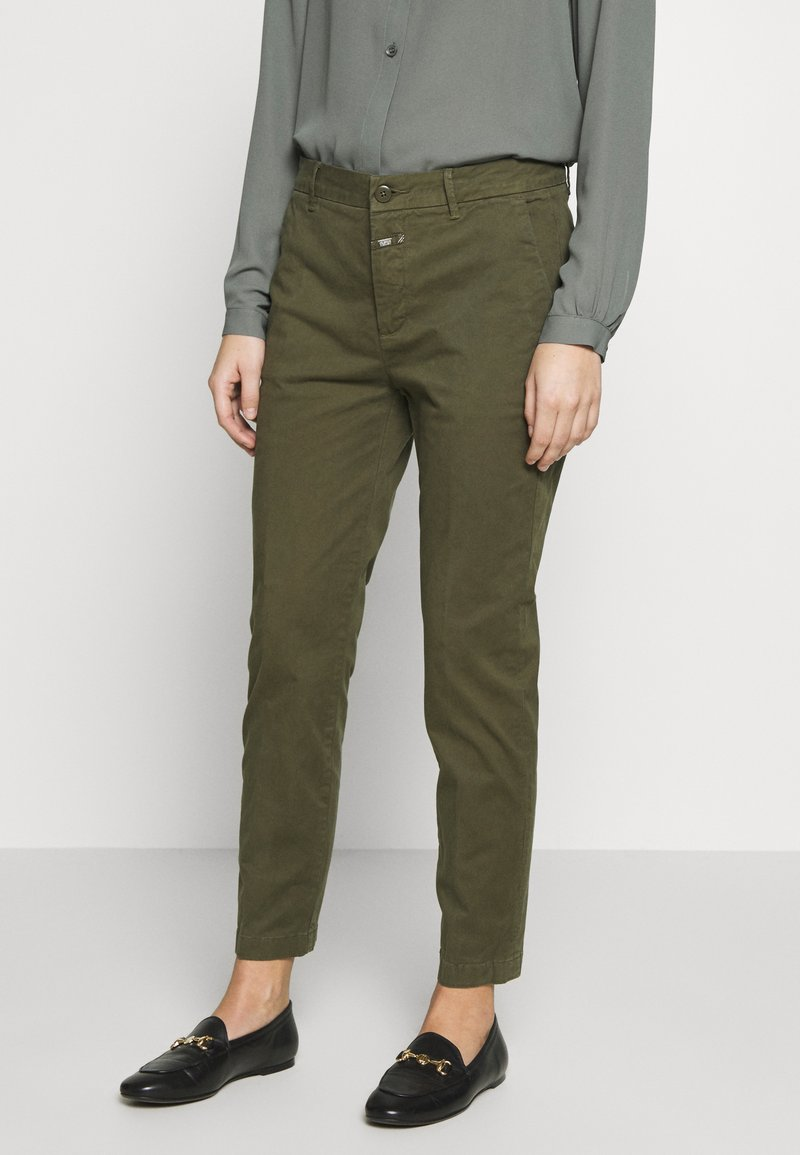 CLOSED - JACK - Chino kalhoty - olive