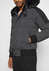 Kings Will Dream - PUFFER BOMBER JACKET - Winterjas - charcoal - 5
