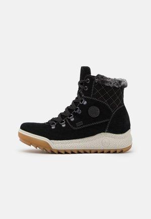 Winter boots - schwarz/anthrazit