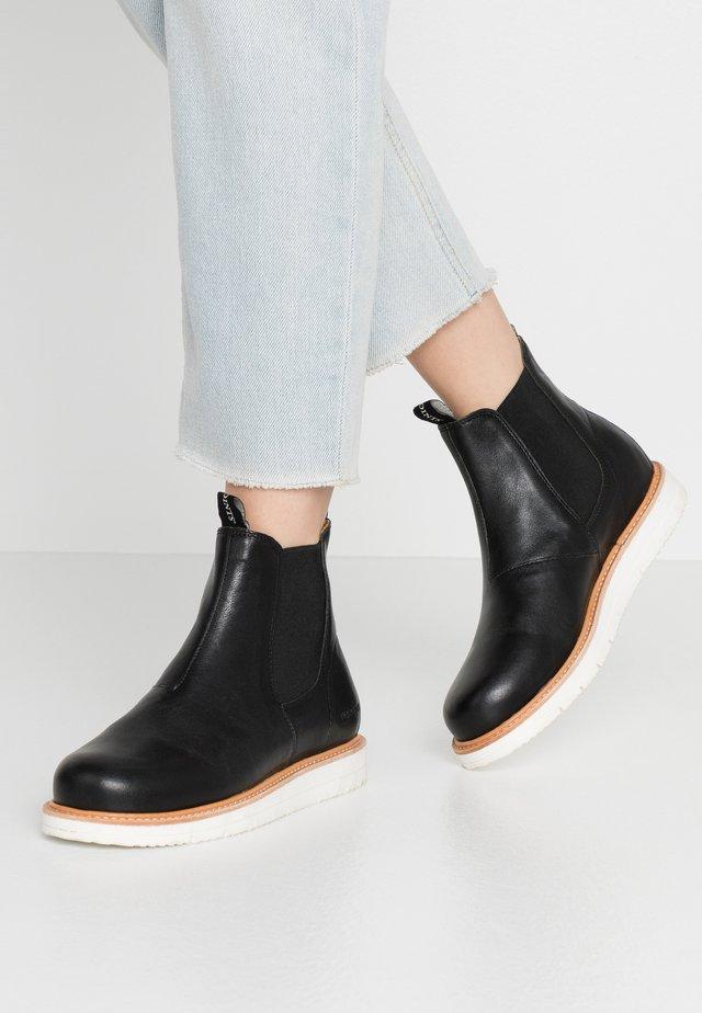 CARINA - Korte laarzen - black