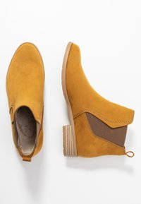 Marco Tozzi - Ankle Boot - mustard - 3