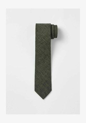 Tie - hunter green