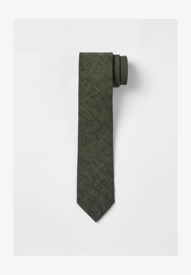 Cravate - hunter green