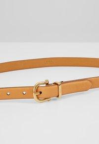 Polo Ralph Lauren - SMOOTH VACHETTA STIRRUP - Cintura - natural - 4