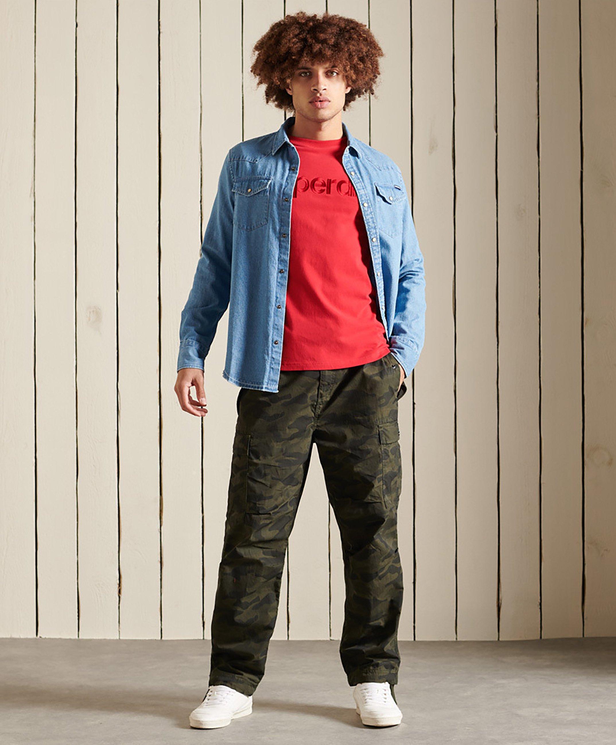 Men CORE LOGO SOURCE - Long sleeved top