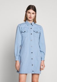 Bruuns Bazaar - VESTIE ZADENA DRESS - Denim dress - blue mist - 0
