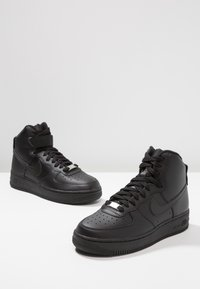 Nike Sportswear - AIR FORCE 1 - High-top trainers - black - 7