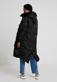 Alpha Industries - LONG FISHTAIL  - Parka - black - 2
