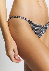 Topshop - GINGHAM RING CROP & PANT SET - Bikini - mono - 3