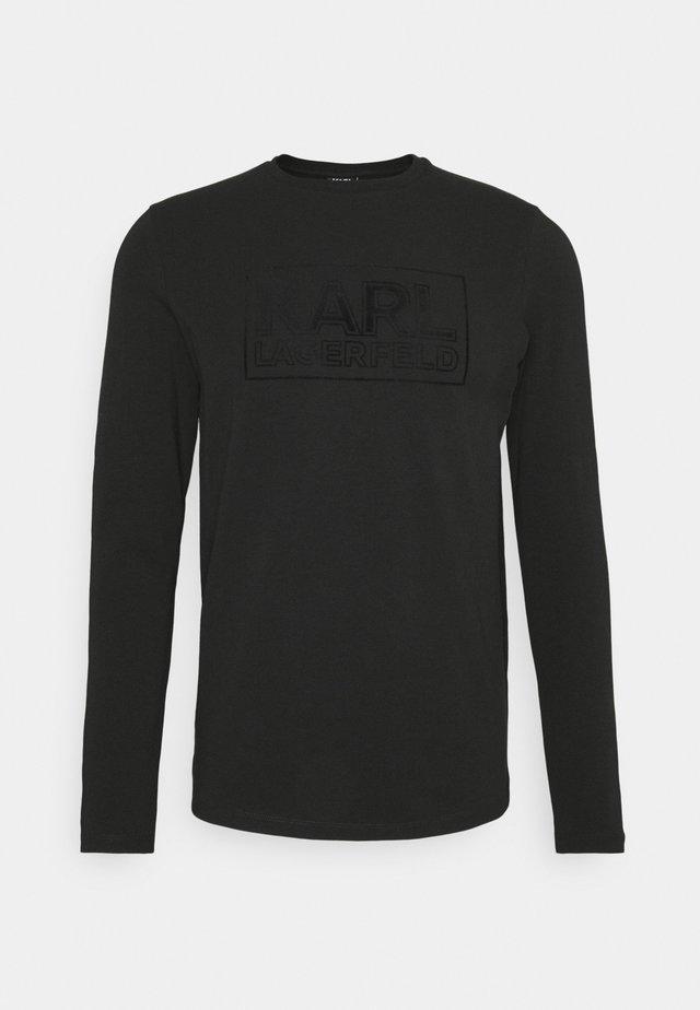 CREWNECK  - T-shirt à manches longues - black