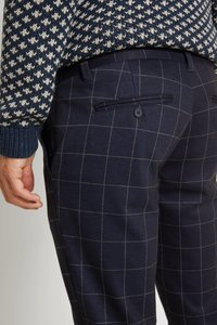 Only & Sons - ONSMARK PANT CHECK - Pantalon classique - dark navy - 4