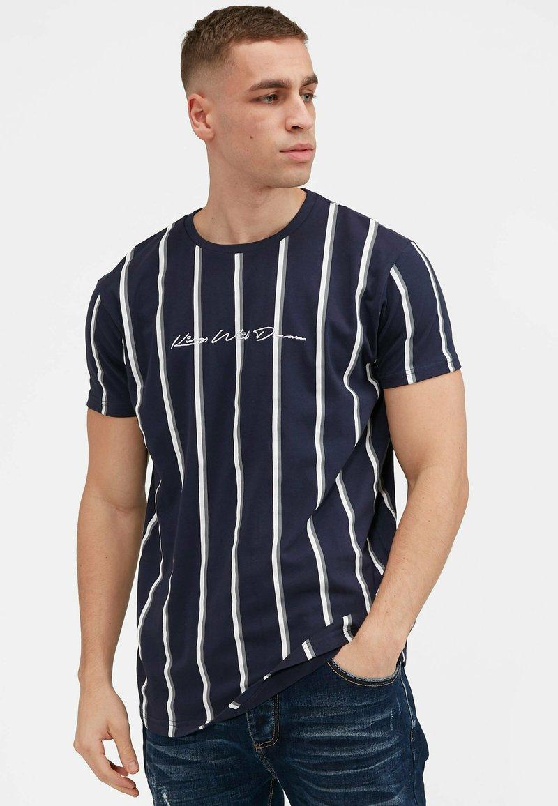 Kings Will Dream - MOFFAT - T-shirt imprimé - navy/grey