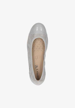 Ballet pumps - lt grey comb