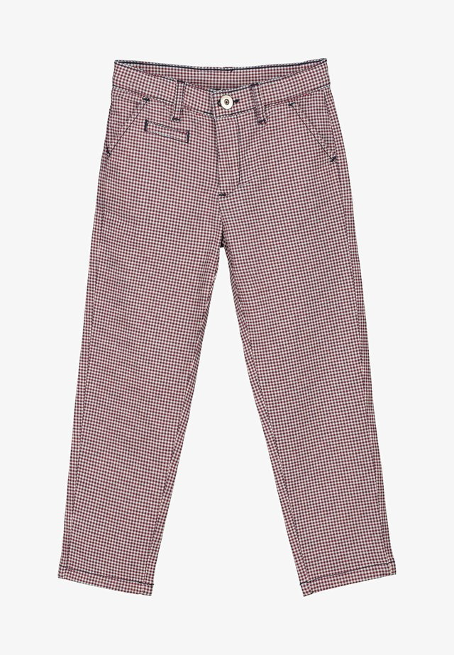 WALT - Straight leg jeans - red/blue