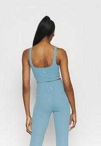 Nike Performance - THE YOGA LUXE CROP TANK - Top - cerulean/light armory blue - 2