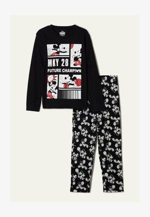 "MICKEY MAUS ""FUTURE CHAMPION"" - Pyjama set - - 8884 - black mickey mouse champion print"