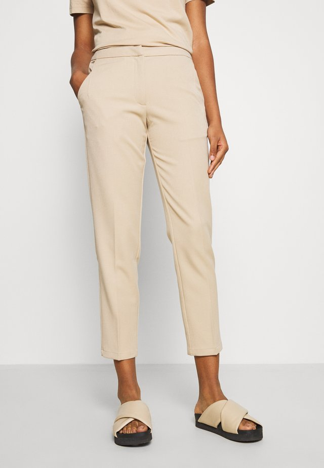 HALLE PANTS  - Trousers - nude