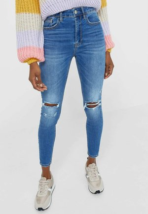Jeans Skinny - blue denim