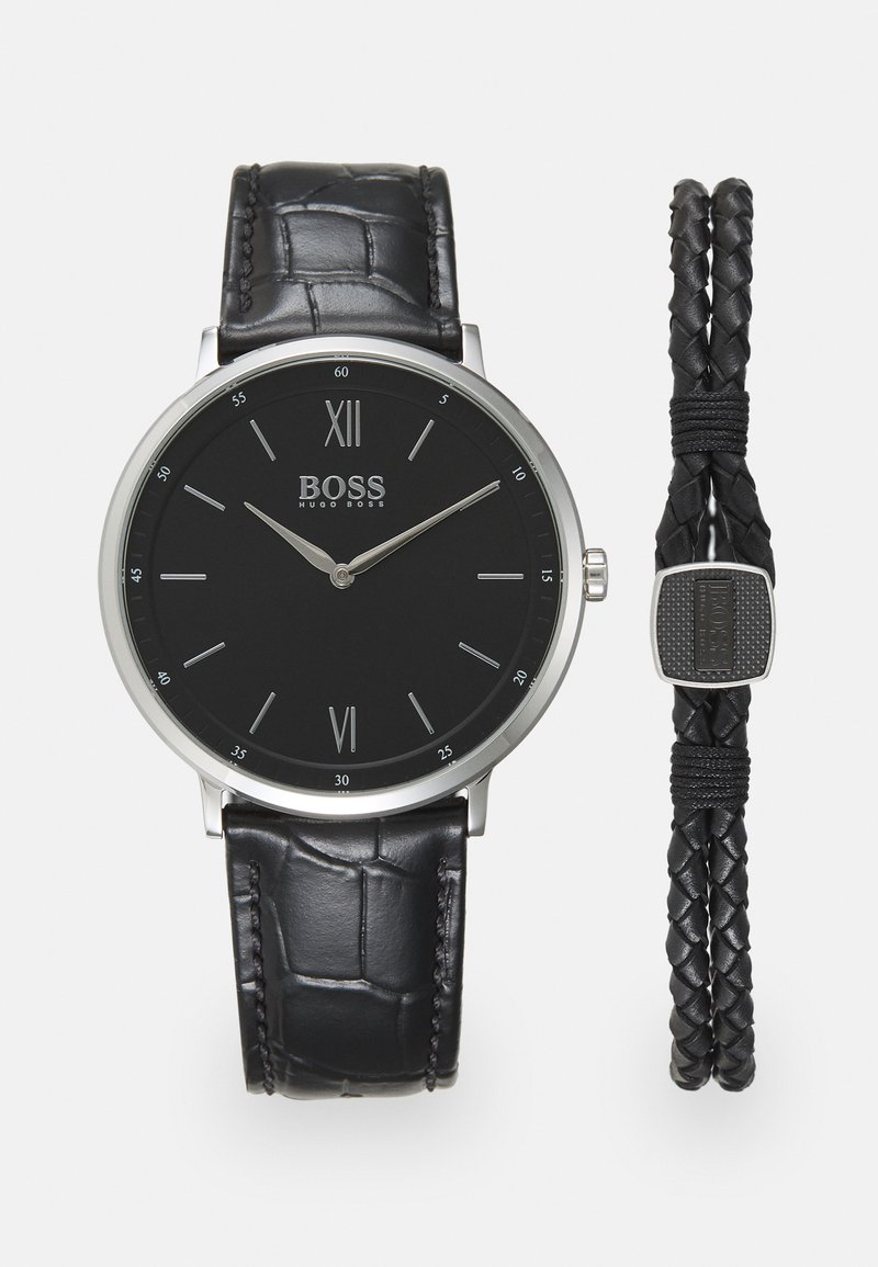BOSS - SET - Watch - black