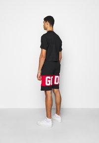 GCDS - CROP TEE - T-shirt basique - black - 2