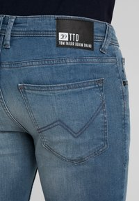 TOM TAILOR DENIM - CULVER  - Jeans Skinny Fit - blue grey denim - 5