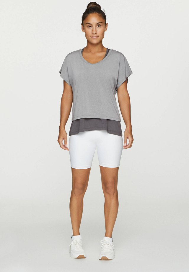 T-shirt con stampa - dark grey