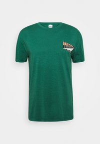 BACK GRAPHIC TEE UNISEX - Print T-shirt - rural green
