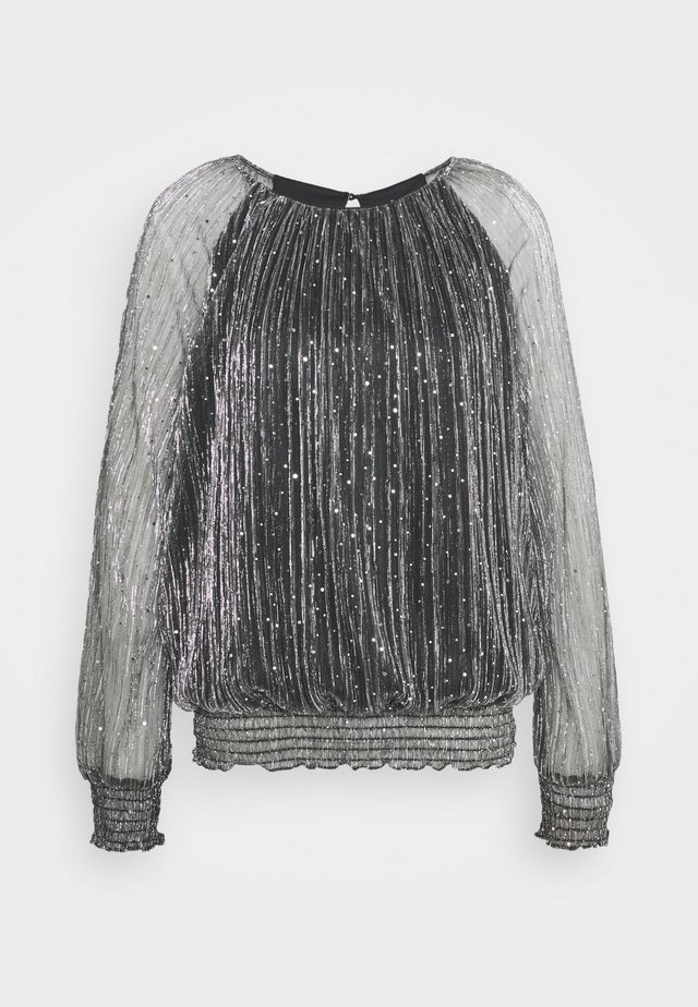 MOONLIGHT BLOUSON - Blouse - silver
