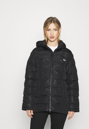 PUFFER WINTER FILLED JACKET - Vinterkåpe / -frakk - black