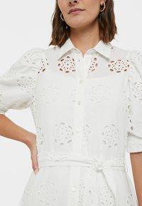 Desigual - NORIA - Košilové šaty - white - 3