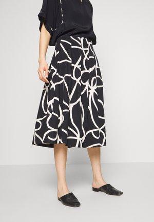 SALLY - A-line skirt - black