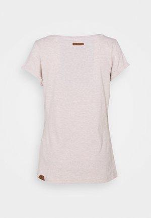 FLORAH - T-shirts med print - beige